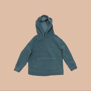 Kids Size - Fleece Sherpa Pullover Hoodie - Small